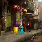 City - San Francisco - Chinatown - Visiting the commoners 1896-06 by Mike  Savad