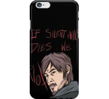 silent hills  riot iPhone Case/Skin