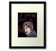 silent hills  riot Framed Print