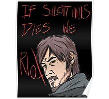 silent hills  riot Poster