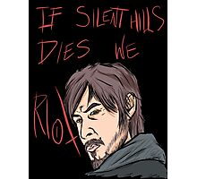 silent hills  riot Photographic Print