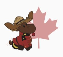 Mountie Moose by mistina