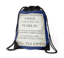 Tardis Drawstring Bag