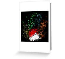 Elemental pokèball Greeting Card