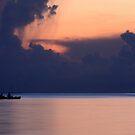 Fishing At Sunset by Varinia   - Globalphotos