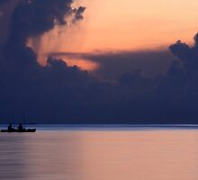 Fishing At Sunset by Varinia   - Globalphotos