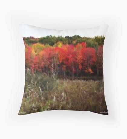 Autumn Impressionist  Throw Pillow