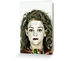 Portrait of Zoe Greeting Card