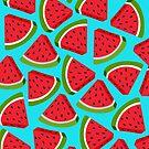 Watermelon Pattern by 4ogo Design