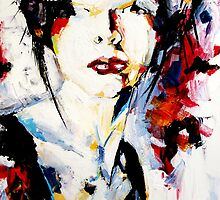 Beauty lies in imperfection, abstract portrait by ZlatkoMusicArt