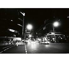 EDWARD & CHARLOTTE STREETS, 0315AM Photographic Print