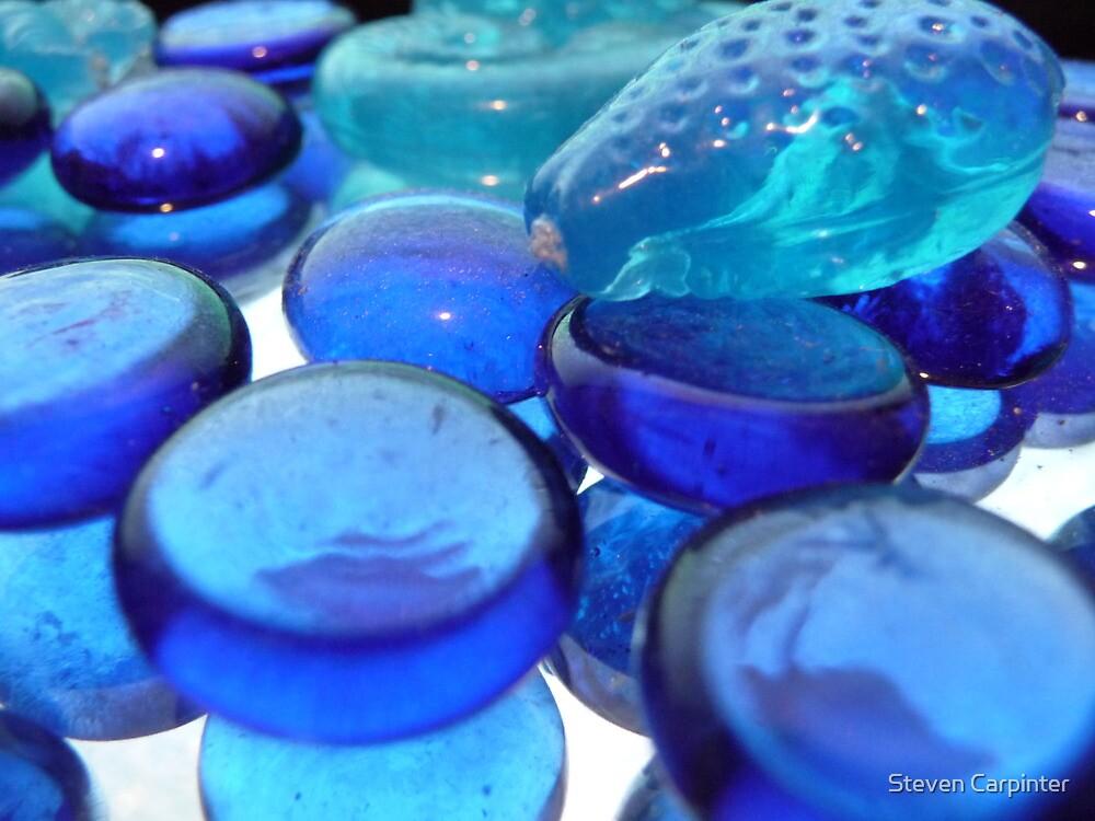Blue Baubles by Steven Carpinter