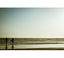 Pismo Beach Surfers Photographic Print