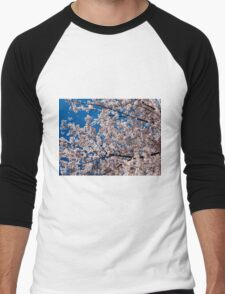 Cherry tree blossoms Men's Baseball ¾ T-Shirt