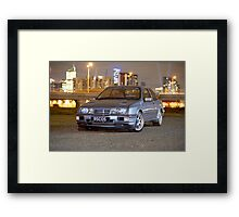 Ford Sierra RS Cosworth Framed Print