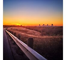On my way to Fort Worth Photographic Print