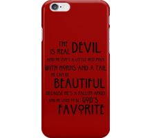 Devil iPhone Case/Skin