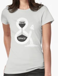 Time & Space Womens Fitted T-Shirt