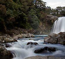Tawhai Falls by Milton Gan