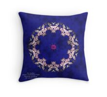 ANGELS SURROUND THEE Throw Pillow