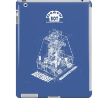 Curiosity bot - innards iPad Case/Skin