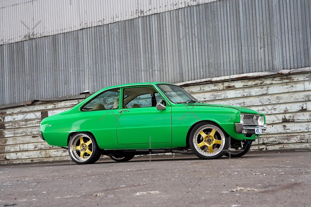 Green Mazda R100 by John Jovic