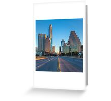Austin sunrise on Congress Greeting Card