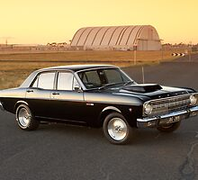 Black Ford XR Falcon by John Jovic