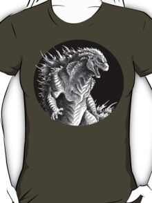 King of Beasts - On Black T-Shirt