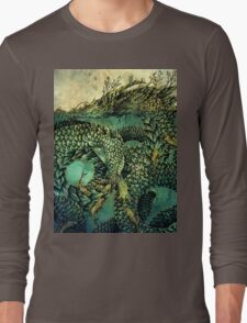 River Dragon Long Sleeve T-Shirt