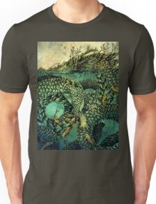 River Dragon Unisex T-Shirt