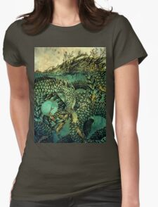 River Dragon Womens Fitted T-Shirt