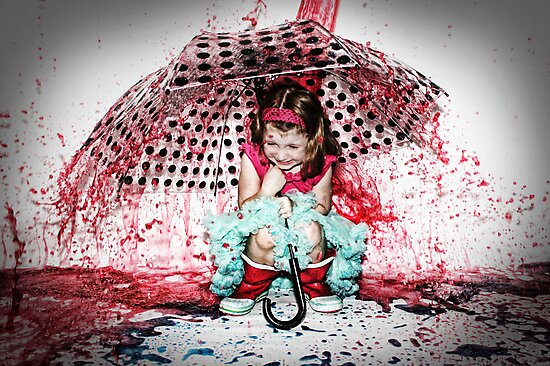 Splatacular Shower by DanikaL