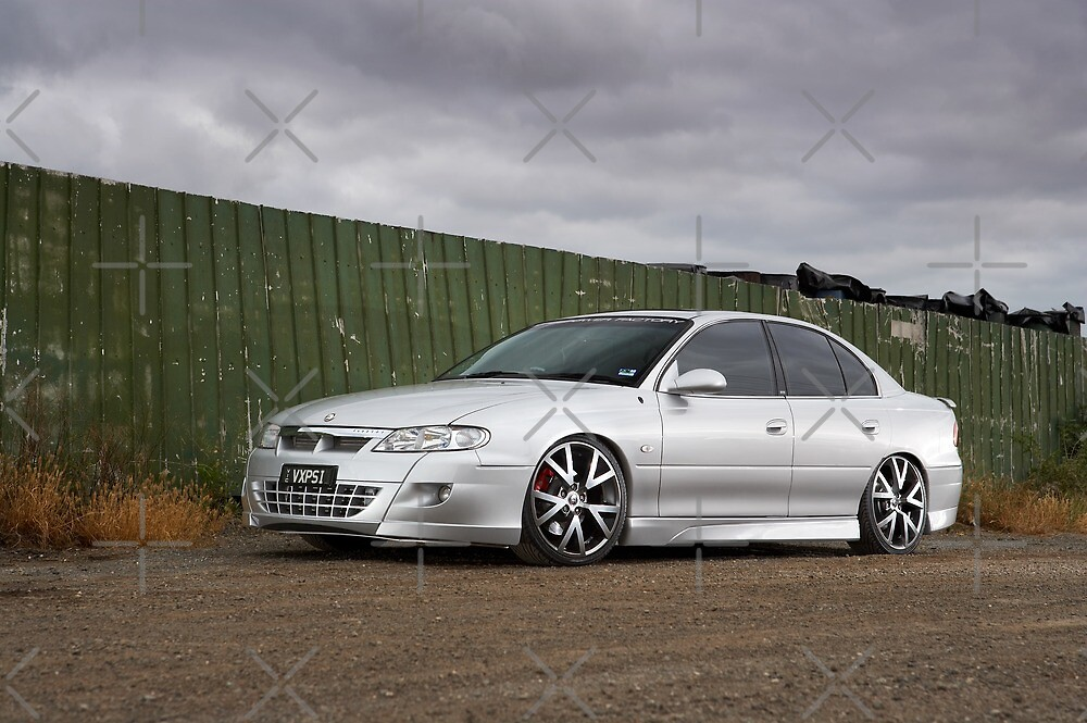 Silver VX Commodore by John Jovic