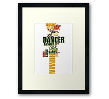The Killers - Are we Human?! Framed Print