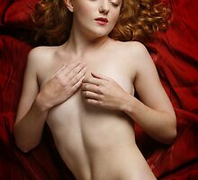 Red - Ivory Flame by Andy G Williams