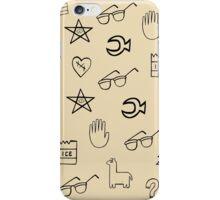Gravity Falls Wheel Symbols iPhone Case/Skin