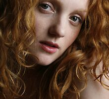 Holly - a beautiful redhead by Andy G Williams