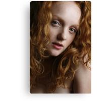 Holly - a beautiful redhead Canvas Print