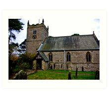 The Church - Nunnington. Art Print
