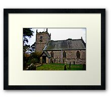 The Church - Nunnington. Framed Print