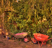 Gardening Time by Elaine Teague