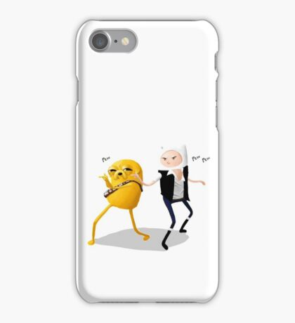 Finn-Solo and Jakey iPhone Case/Skin