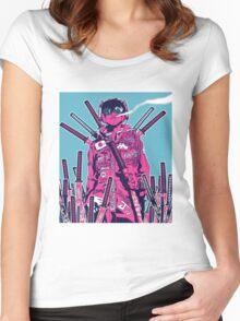 Swordmaster Graveyard Women's Fitted Scoop T-Shirt