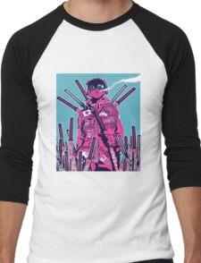 Swordmaster Graveyard Men's Baseball ¾ T-Shirt