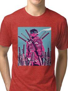 Swordmaster Graveyard Tri-blend T-Shirt
