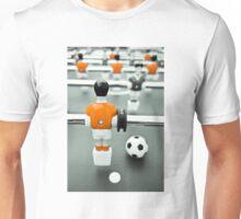 Table Football 02B - Defender   Orange Unisex T-Shirt