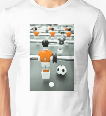 Table Football 02B - Defender | Orange Unisex T-Shirt