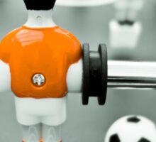 Table Football 02B - Defender | Orange Sticker