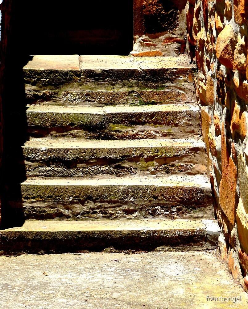 Church steps by fourthangel